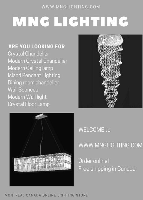 Lighting Online Modern Crystal
